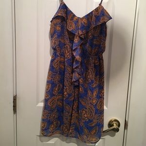 FOREVER 21 Tropical Dress
